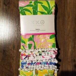 Set of 4 Lilly pulitzer napkins